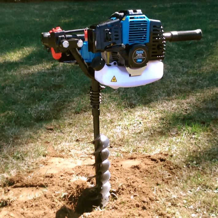 Bäume pflanzen Erdbohrmaschine ausleihen Erzgebirge